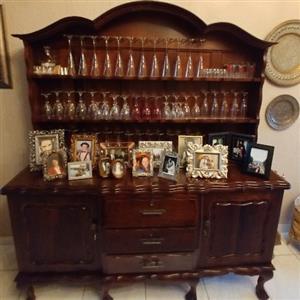 Antique Imbuia Buffet