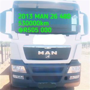 2013 MAN 26 480
