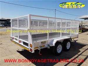 4 Meter Double Axle with Mesh