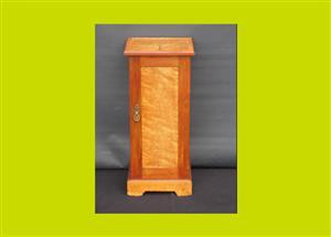 Victorian Maple Bedside Cupboard - SKU 732