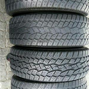 Good quality tyres both second and New