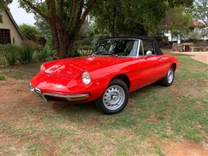 1968 Alfa Romeo DUETTO Spider 1300 RHD