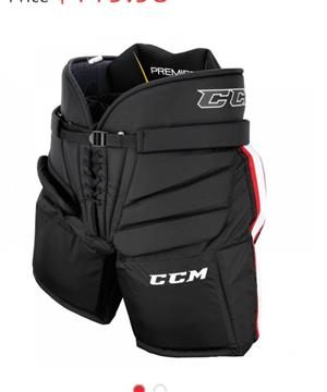 Ice hockey goalie pants