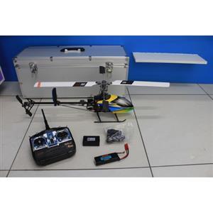 E-RAZOR 450 CARBON 2.4 M2 AL