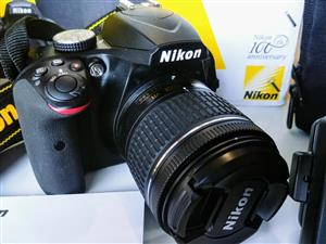 Nikkon D3400 with AF-P DX 18-55mm VR lens and Camera bag and 16GB memory card for sale