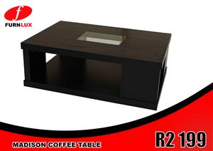 COFFEE TABLE MADISON FOR ONLY R2 199 BRAND NEW!!!