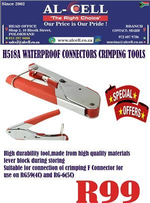 H518A Waterproof Connectors Crimping Tools