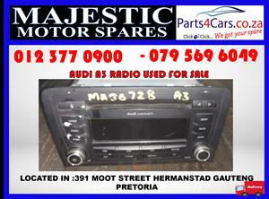 Audi A3 used radio for sale used spares