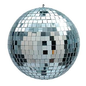Disco mirror ball approx 250mm diameter in good condition