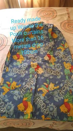 Winnie the pooh curtains for sale