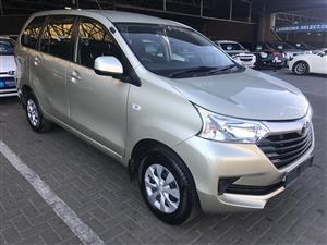 2018 Toyota Avanza AVANZA 1.5 SX