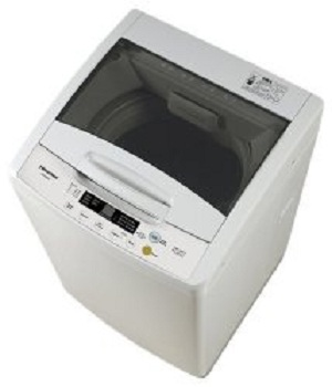 Top Loader washing machine - 8kg Hi-Sense white