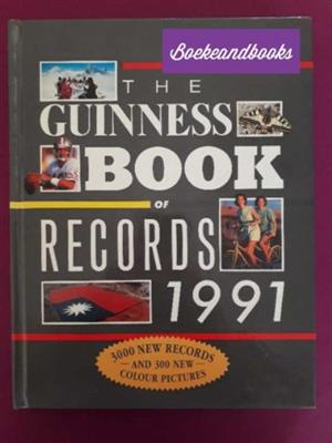 The Guinness Book Of Records - 1991 - Guinness Book.