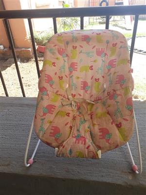 Pink baby chair for sale