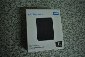 External Hard Drive 1 TB... Best PRICE / SEALED & NEW...Western Digital & Seagate Expansion