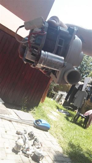 Dishwasher pump motor & spares
