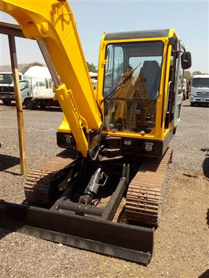 Hyundai Robex 55-7 ton excavator