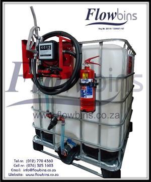 Gauteng: 1000L Diesel / Paraffin Bowsers 12V / 220V NEW - from R4350 - Bakkie Skids & Trailers
