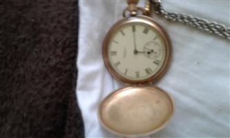 antique pocket watch Waltham