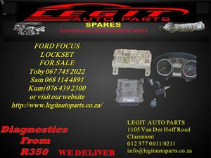 FORD FOCUS LOCKSET FOR SALE
