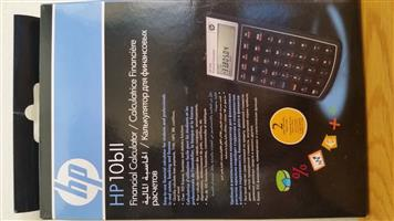 HP10bll financial calculator