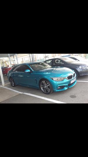 2017 BMW 4 Series Gran Coupe 420i GRAN COUPE M SPORT  A/T (F36)
