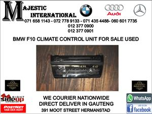 Bmw F10 climate control unit for sale
