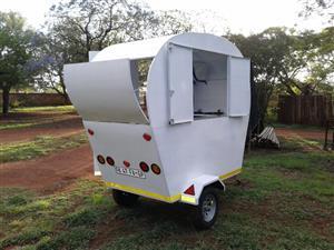 Food retail trailer
