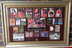 Manchester United, Liverpool, Arsenal FC Commemorative Limited Edition Prints