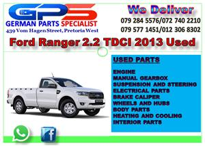 FORD RANGER 2.2 TDCI 2013 USED PARTS FOR SALE