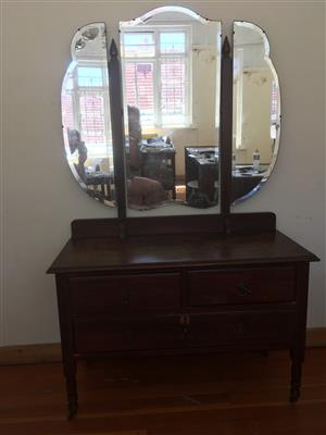 Dressing Table, Antique, Dressing Table, Vanity