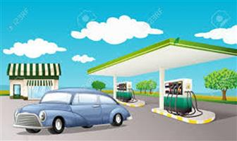 Filling station with businesses for sale!