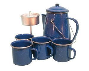 Pot Coffee Percolator 5 Piece