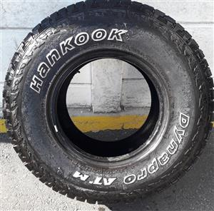 """15"""" 4x4 AT TYRES"""