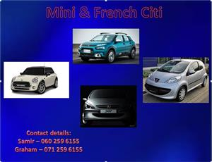Mini & French Spares