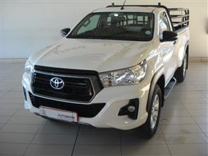 2018 Toyota Hilux single cab HILUX 2.4 GD 6 SRX 4X4 A/T P/U S/C