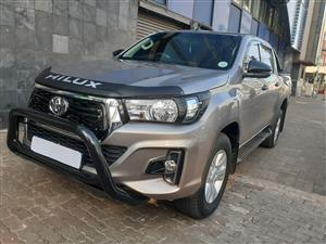 2018 Toyota Hilux 2.4GD 6 double cab SRX