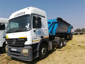ACTROS 2640 WITH TRAILER