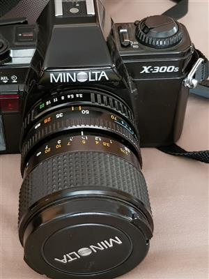 Minolta X-300s analogue camera