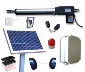 Solar Powered   Farm Swing Gate Opener Kit