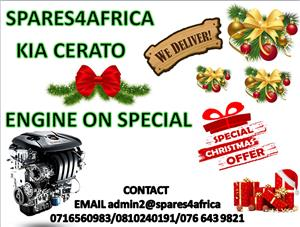 KIA CERATO ENGINE ON CHRISTMAS SPECIAL