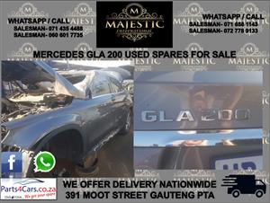 Mercedes Benz GLA 200 used spares for sale