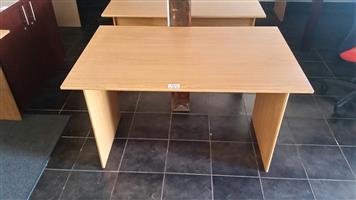 Oak study desk