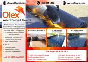 Olex Waterproofing & Projects