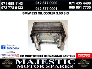 Bmw e53 oil cooler for sale