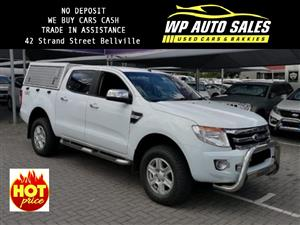 2015 Ford Ranger 3.2 double cab 4x4 Wildtrak