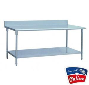 STAINLESS STEEL TABLES FOR SALE - WORKTOP TABLE - KITCHEN TABLES FOR SALE