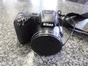 Nikon Coolpix L120 Camera
