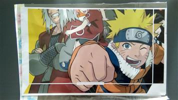 PS4 Naruto Console Skin.