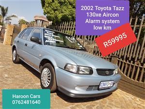 2002 Toyota Tazz 130 XE
